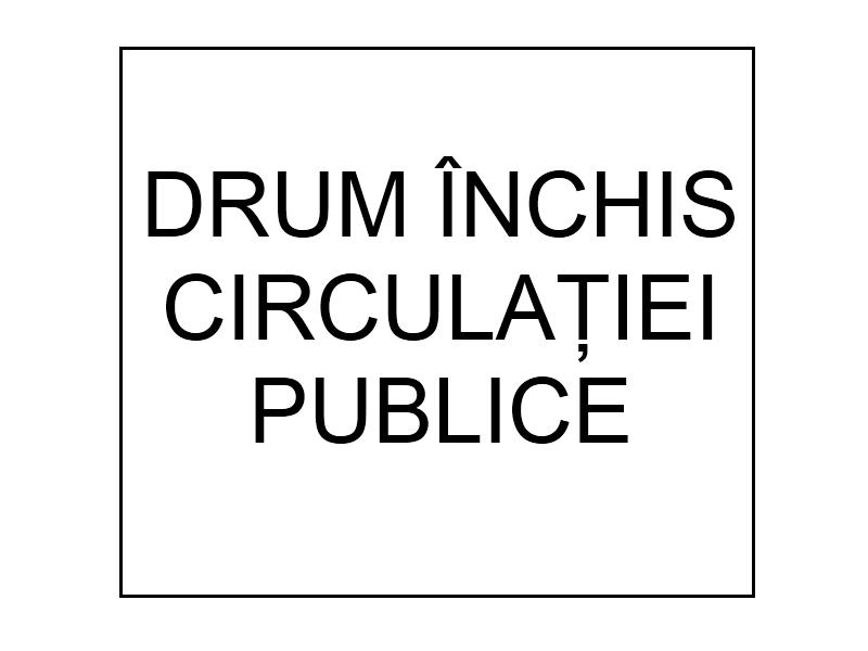 Drum inchis circulatiei publice