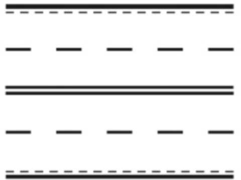 Marcajele longitudinale