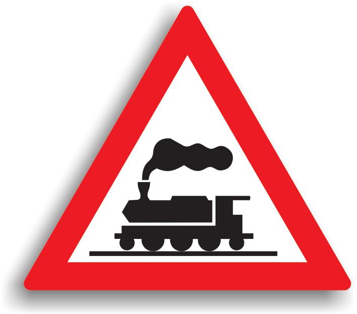 Trecere la nivel cu o cale ferata fara bariere