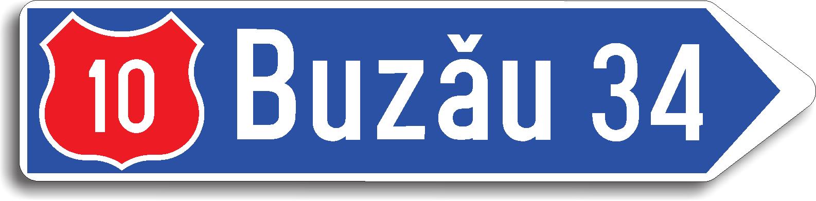 Directia spre localitatea indicata