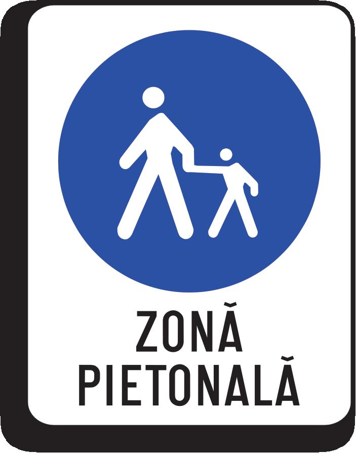Zona pietonala