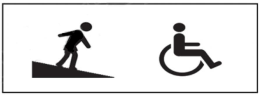 Rampa pentru persoane cu handicap locomotor