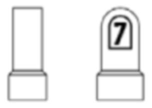 Indicator hectometric