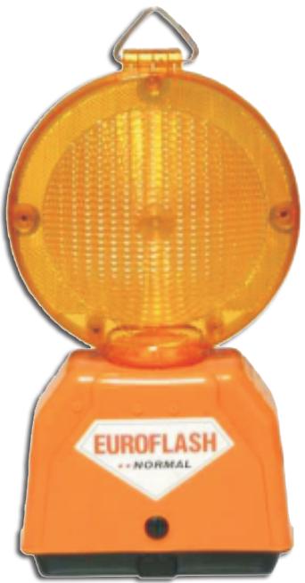 Lampa cu lumina galbena intermitenta